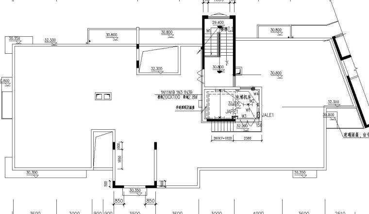 某11层住宅强弱电图