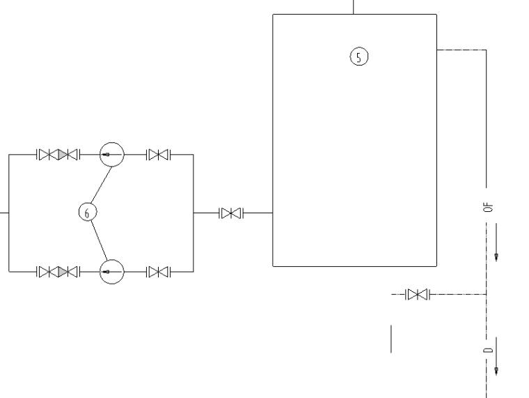 某电厂锅炉水处理图纸详图3