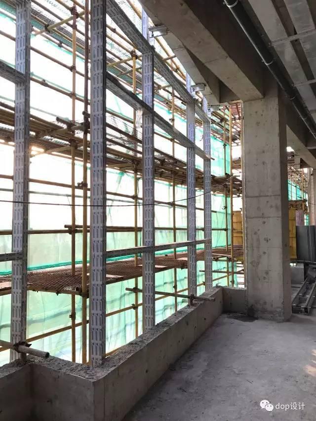 玻璃幕墙与装饰收口问题及施工流程_11