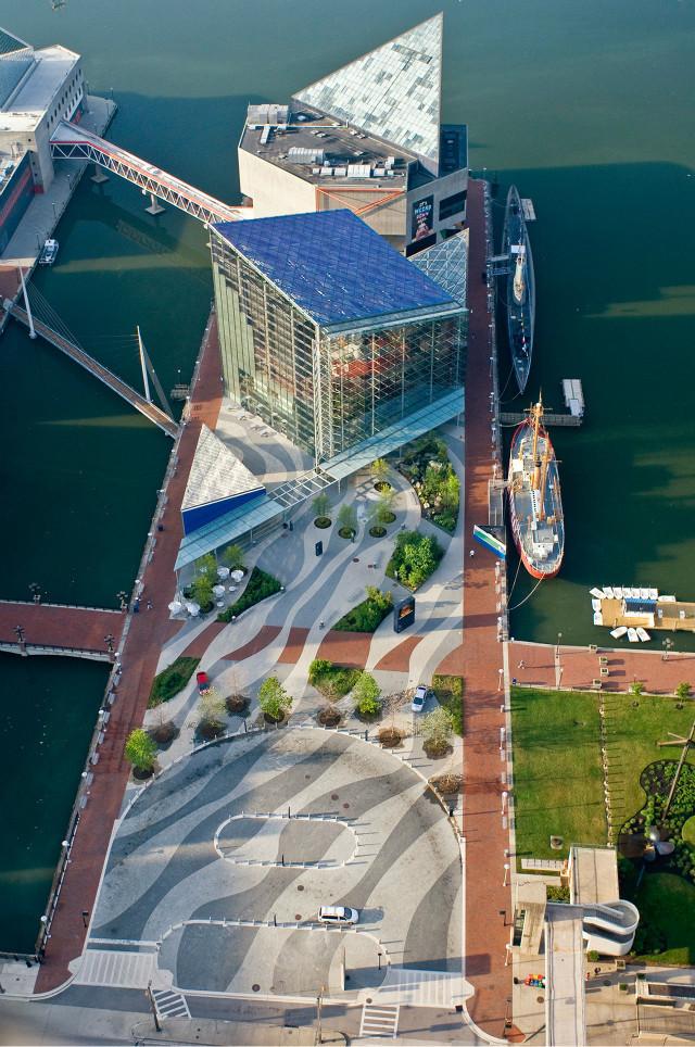 美国巴尔的摩国家水族馆广场案例