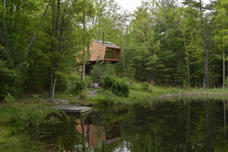 美国湖边住宅