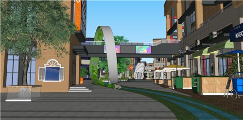 商业街氛围营造|打破空间,打造另类购物体验——梅澜坊商业街之-35