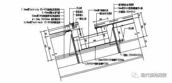 [实例]康定体育馆金属屋面工程施工技术分析_4