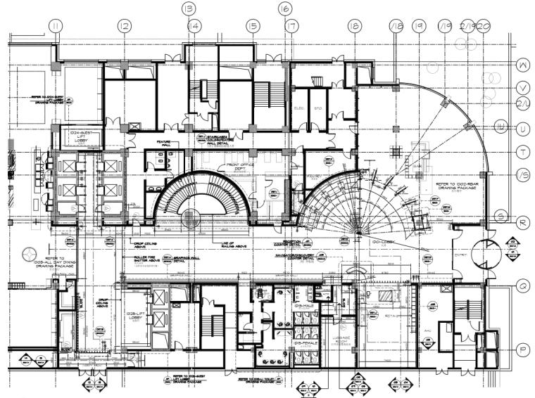 [辽宁]新加坡Ecoid-沈阳万丽酒店全套施工图+设计方案+效果图(JPG,PDF,CAD)