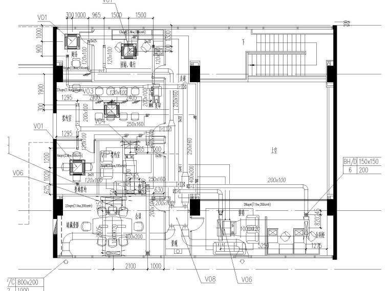 [上海]国际金融中心暖通施工全套图(含冷热源、空调系统、机械通风与排烟系统与节能设计)_4