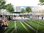 [湖北]柳岸风情开放式现代城市创新生态办公园区景观设计方案