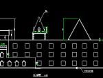 长77.9米宽28.65米三层幼儿园设计图