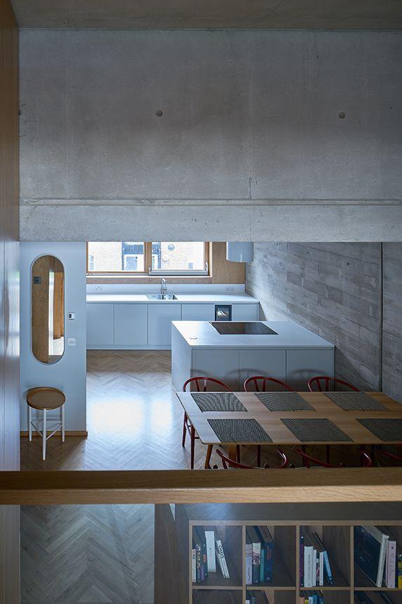 建筑师独立开发的公寓楼,真是好房子!_26