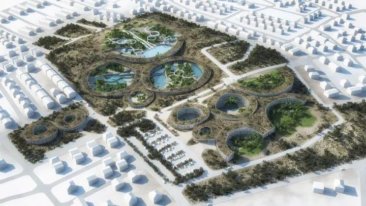 圆的灵感——土耳其度假区景观方案设计