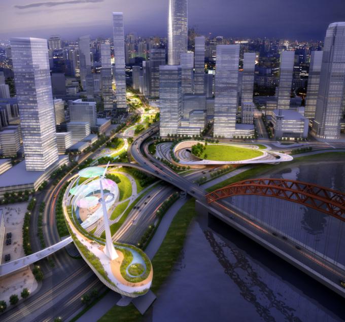 """[湖北]""""海绵城市""""生态智能体验式商业街区景观设计方案(上、中、下篇3个文本)_11"""