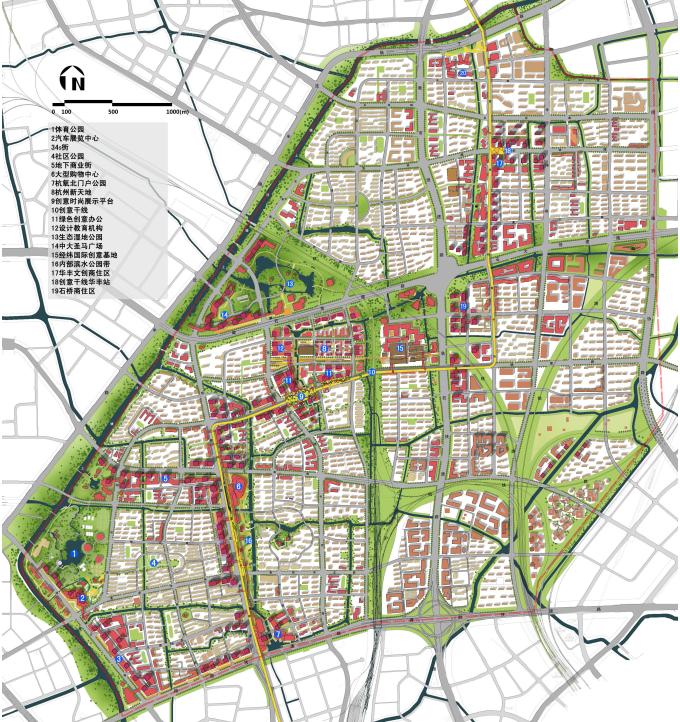 [浙江]多维灵动创意体验空间城市景观规划设计方案_9