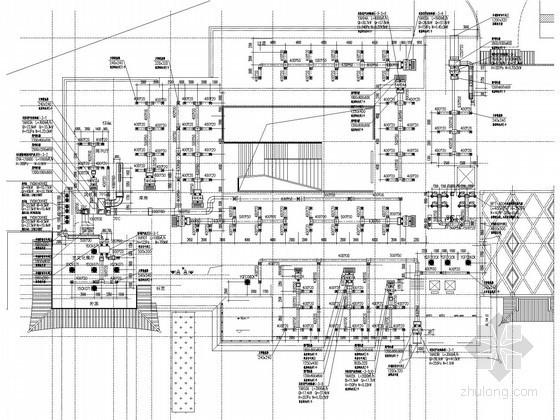 [重庆]博物馆建筑空调系统施工图