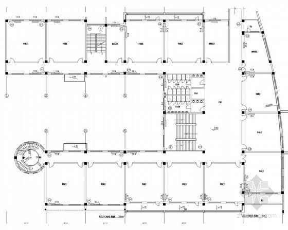 [北京]学校教学楼散热器采暖系统设计施工图
