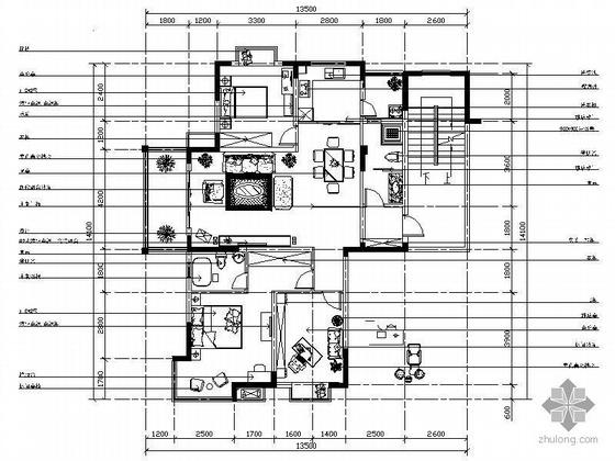 三室两厅现代风格设计方案图
