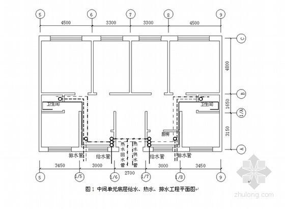 [江苏]给排水安装工程量清单计价实例(含配图)