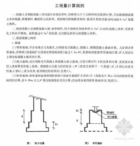 河北省2012建筑工程消耗量定额(上册)