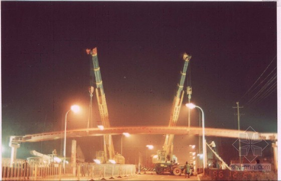 北京某钢箱梁人行天桥(实施)施工组织设计