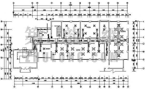 某大学制冷空调技术中心空调设计图