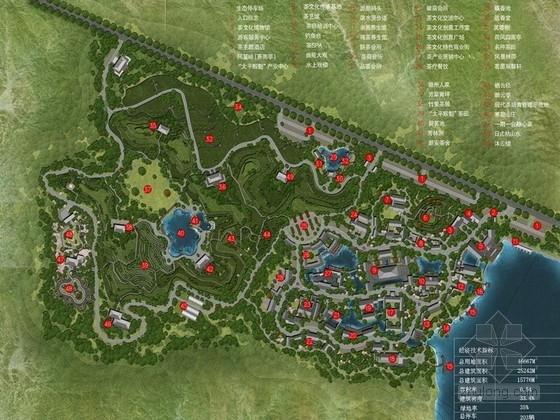 [安徽]徽派特色茶叶休闲旅游博览园区景观规划设计方案(知名设计公司)