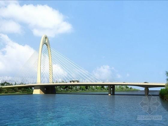 [江苏]椭圆型钢箱混凝土塔柱空间双索面斜拉桥及其连接线工程施工组织设计(2013)