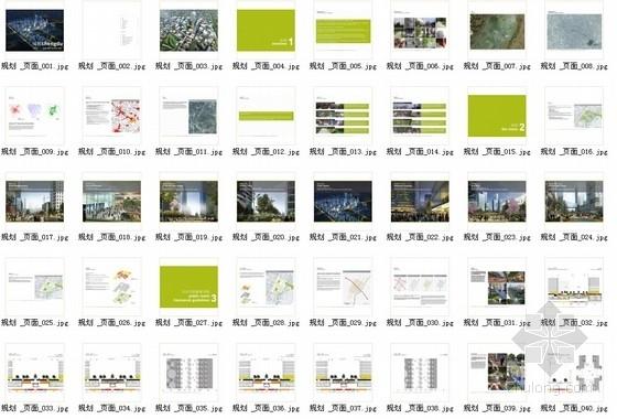 [成都]新城区现代风格概念性总体规划设计方案文本-总缩略图