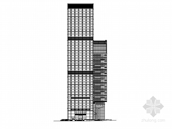 [深圳]超高层核心筒结构商业综合体建筑施工图