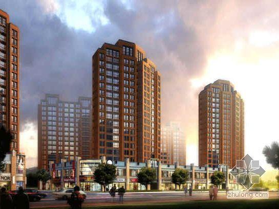 [大连]公园品牌系列小高层社区规划及建筑设计分析