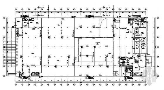某电子厂房全套消防设计图