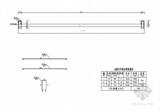 钢筋混凝土平板桥行车道挡块结构节点详图设计