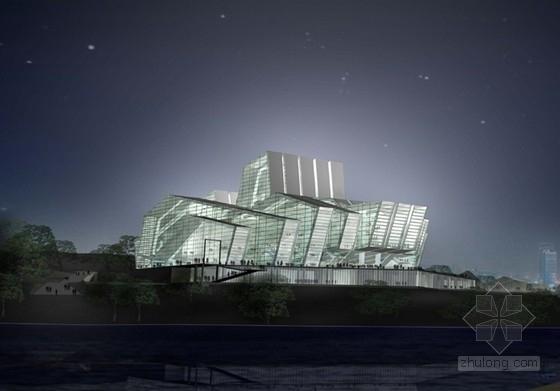 [重庆]6层大剧院建筑设计方案文本(含CAD)