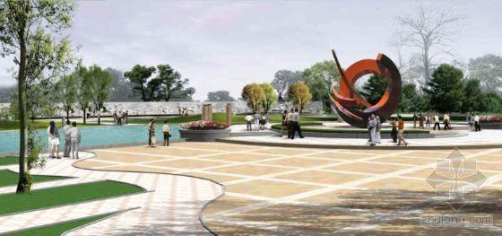 河北奥运主体公园景观设计方案-3