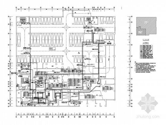 [上海]二十八层商业住宅综合楼全套电气施工图纸(裙楼 塔楼 地下三