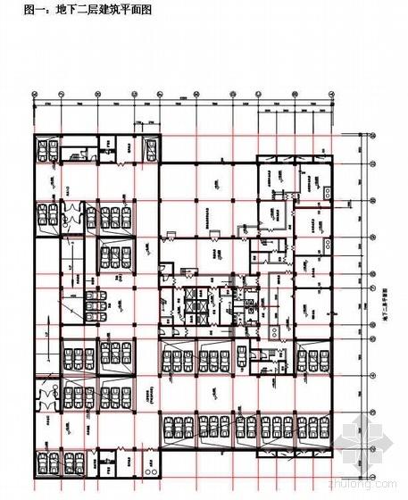 北京某综合楼工程施工组织设计(框剪结构)