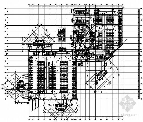 [重庆]某居住小区室内给排水全套施工图纸(7栋、地下室)