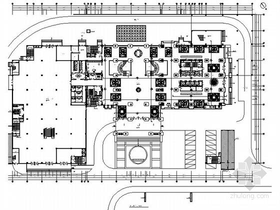 [重庆]某豪华酒店欧陆风格精装修施工图(含效果)