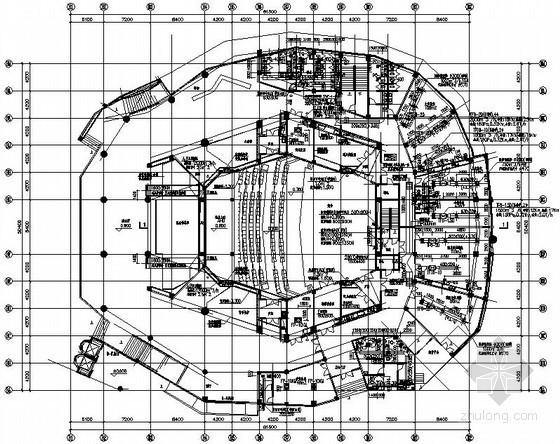 [江苏]文化中心空调通风设计施工图(图书馆、美术馆、音乐厅)
