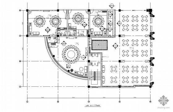 [江苏]某现代豪华餐厅装修图