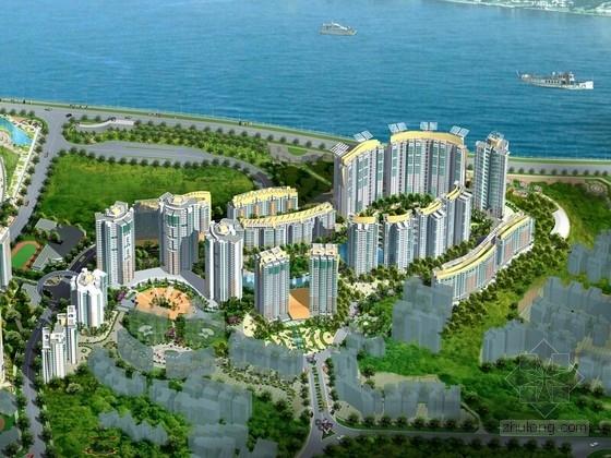 [重庆]组团式阳光高档居住区景观设计