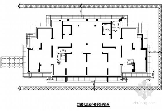 [安徽]框剪结构住宅楼工程落地脚手架施工方案