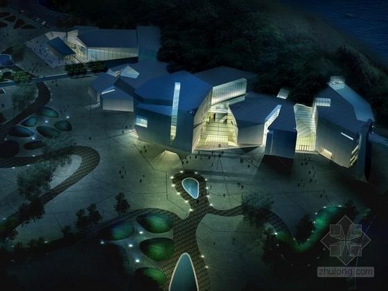 [重庆]5层活动中心建筑设计方案文本