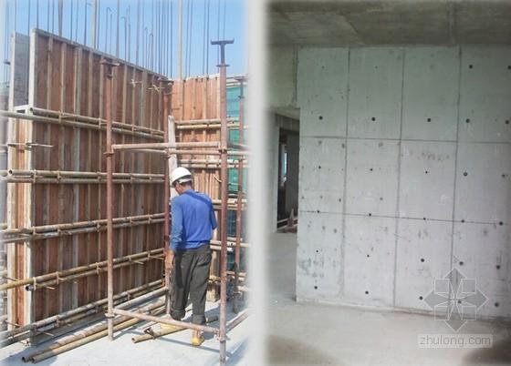 房建工程高精度木模施工应用汇报
