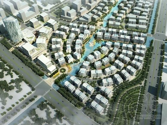 [江苏]现代风格科技园办公园区规划设计方案文本