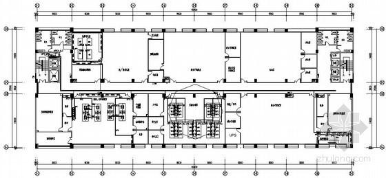 某标准楼实验室电气深化设计图纸