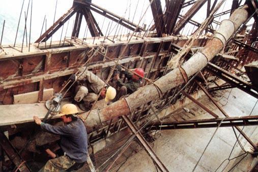 高速公路立交桥T构梁转体施工监测方案(23页)