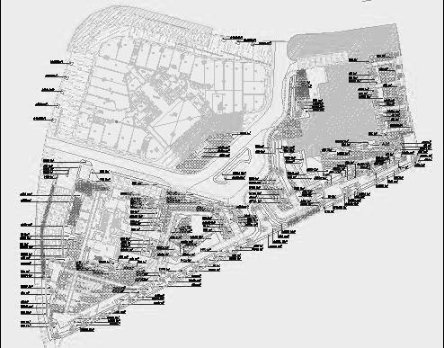 四川成都金色海蓉景观设计施工图-植物设计4