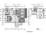 欧式风格望江府邸三层别墅设计施工图(附效果图)