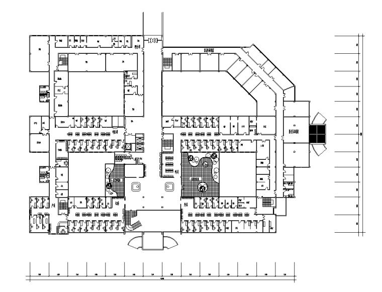 绍兴人民医院规划及建筑方案设计施工图(56张)_6
