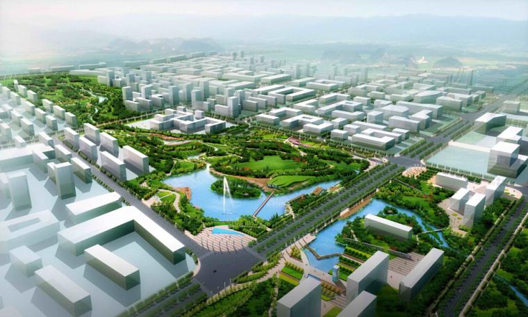 [吉林]长春净月经济开发区西部新区综合公园景观方案 NITA