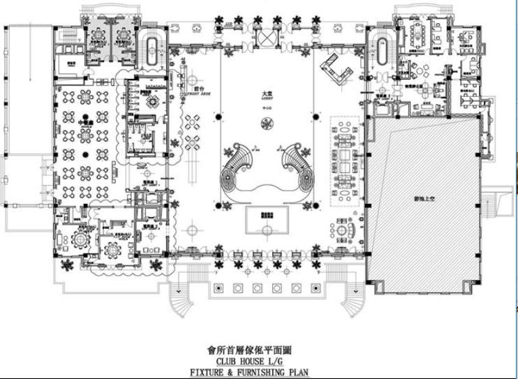 浙江亚厦--杭州萧山湘湖壹号会所施工图及实景图(80张)_3