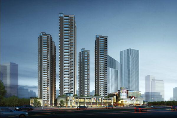 综合体项目住宅地块工程策划书(附多图)
